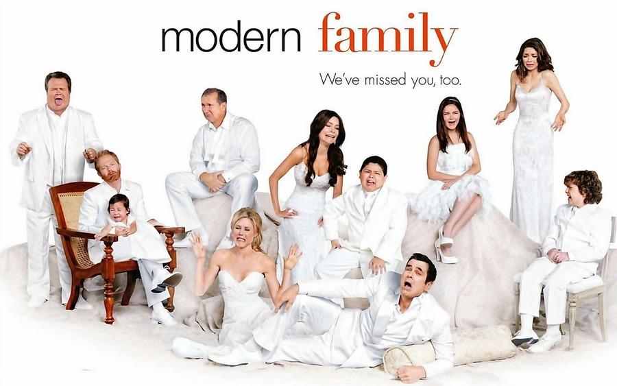 摩登家庭第八季剧照